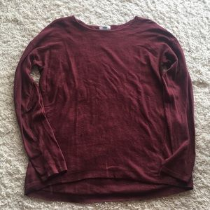 Maroon Old Navy Sweater
